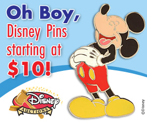 Disney Auction Banner Ads