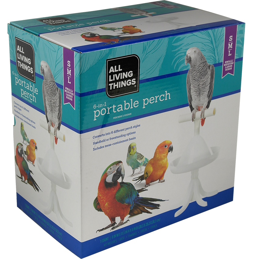 All Living Things _Portable Perch found at PetSmart