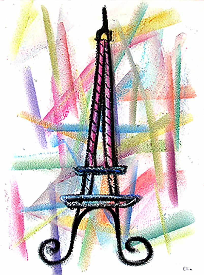 EliaArt_Eiffel Tower 2