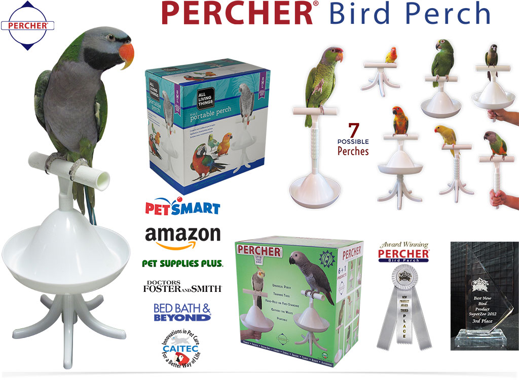 Percher® Bird Perch