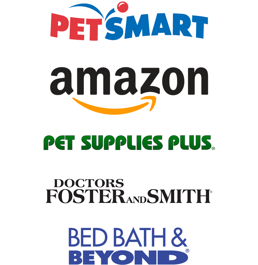 Percher purveyors include, PetSmart, Amazon, and many others.